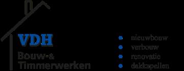 VDH Bouw & Timmerwerken logo